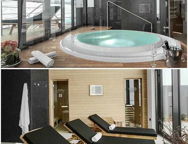 Vino protagonista nel resort Mond Casinò & Hotel di Šentilj - un angolo della SPA